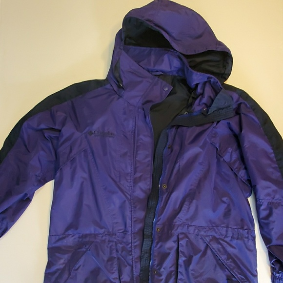Columbia Other - Mens columbia winter jacket purple size large